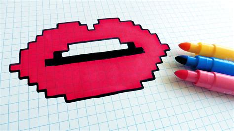 Pixel lips picture 11