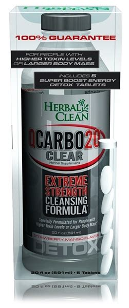 herbal clean qcarbo 20 clear p a drug picture 6