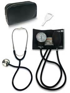 how to use blood pressure and stethescope picture 3