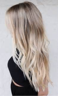 pure blonde color hair picture 3