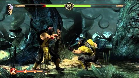 mortal kombat what is color is smoke's hair picture 7
