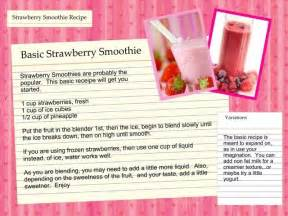 diet strawberry smoothie recipe picture 9