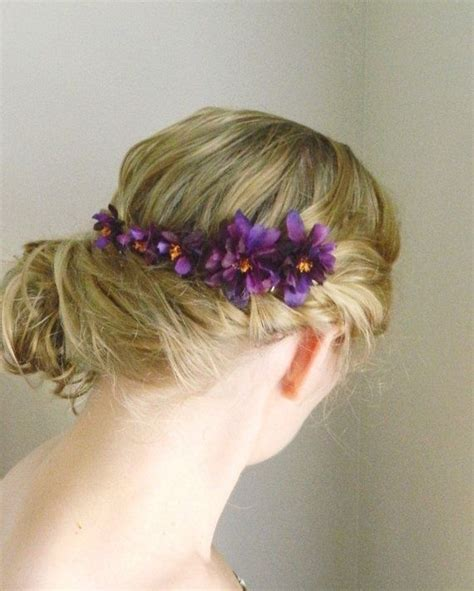 purple hair pins picture 7