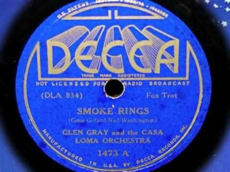 smoke rings glen grey orchestra picture 2