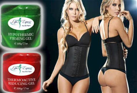 colombian brand lipo express thermoactive reducing gel picture 8