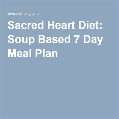 sacred heart diet soup picture 2