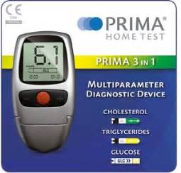 Cholesterol kit testing picture 1