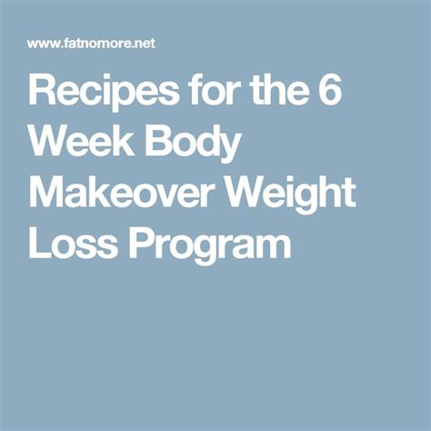 Michael thrumond weight loss program picture 1