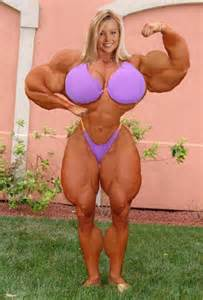huge muscle morph women bodybuilders picture 5