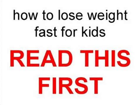 fast weight loss tips for 14 year old picture 6