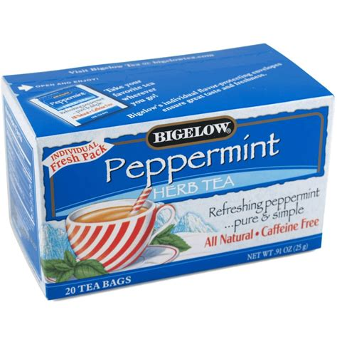 bigelow peppermint tea picture 2