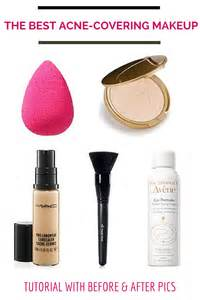 apply make up to cover acne picture 6