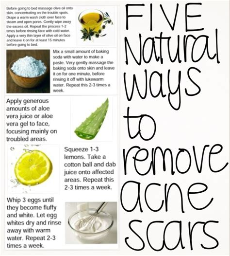 homemade things to remove post acne marks picture 6