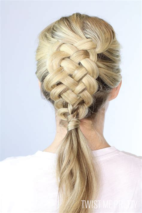 5 stranded braid hair picture 10