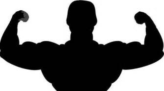 free muscle man clipart picture 11
