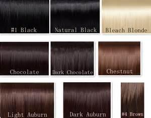 revlon hair color chart picture 1