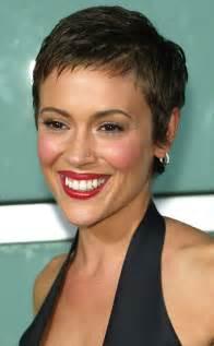 alyssa milano short hair picture 5