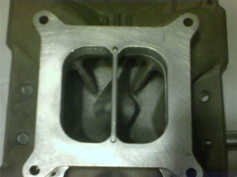 carb spacers on dual plane intakes picture 10