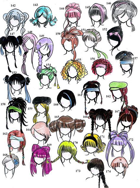 anime hair styles picture 3