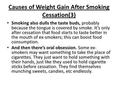 will stop smoking help gain weight picture 9