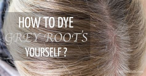 covering gray roots in hair picture 2
