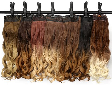 clip in hair extensions appling picture 7