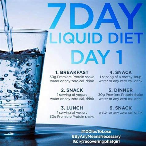liquid weight loss diet picture 1