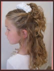 hairstyles for communion short hair picture 7