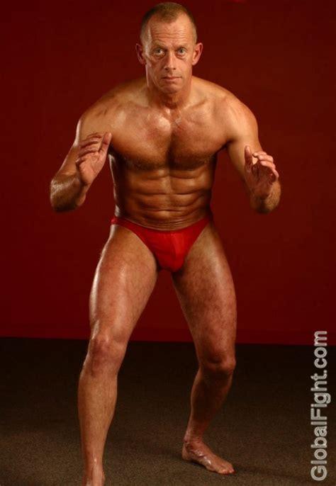 studly men wrestling picture 1