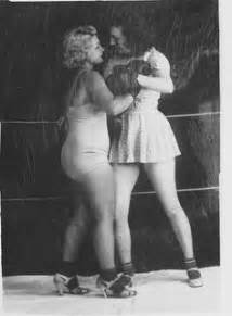 black female white female wrestling picture 11