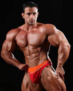 bodybuilder macho nacho picture 18