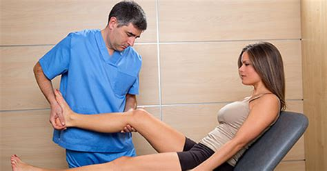 female doctor surprises male patient during physical picture 6