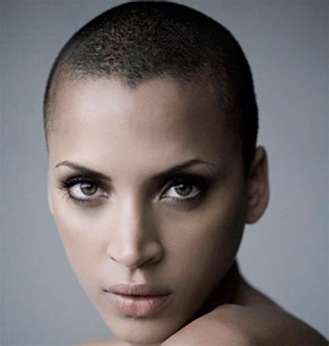 fulker shaved head women picture 15