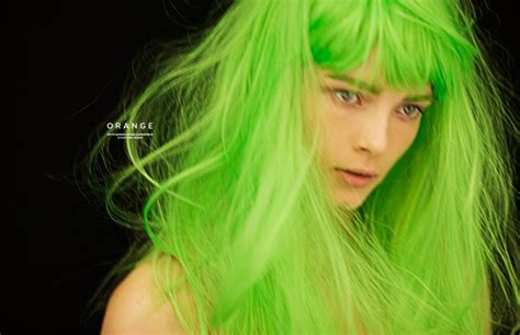 color hair green picture 3