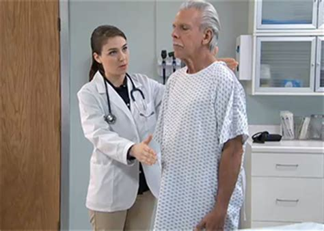 female nurse feeling male genitals picture 5