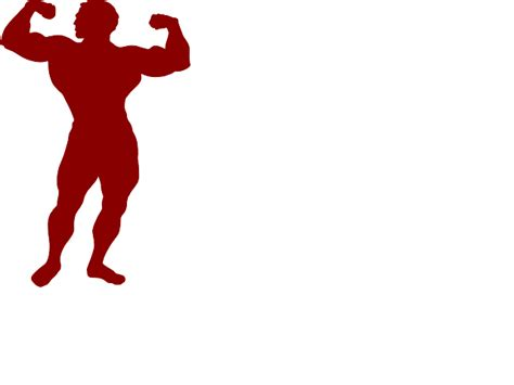 free muscle man clipart picture 22