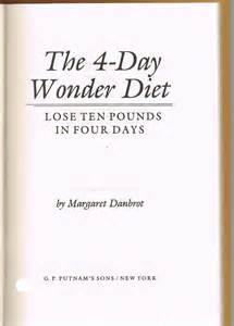 4 day wonder diet picture 1