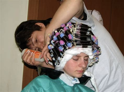 women who like curling crossdressers hair on rollers picture 17