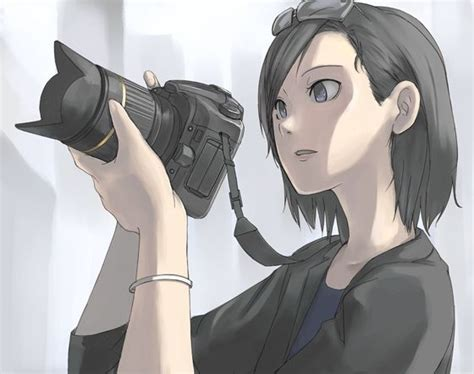 camera girl hair picture 15