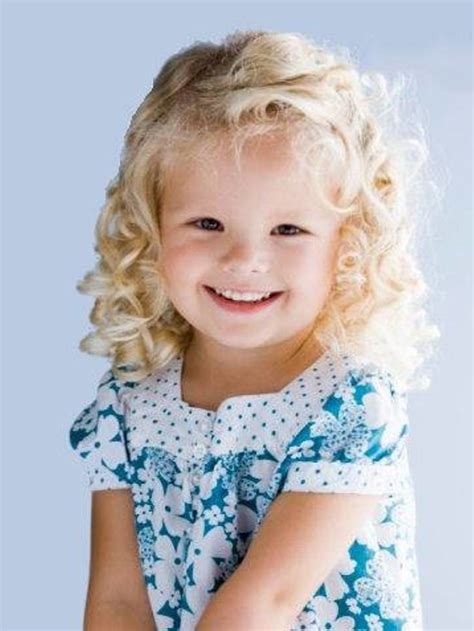 blonde curly hair women picture 2