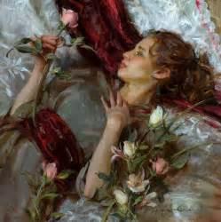 romantic paintings of sleeping women picture 9
