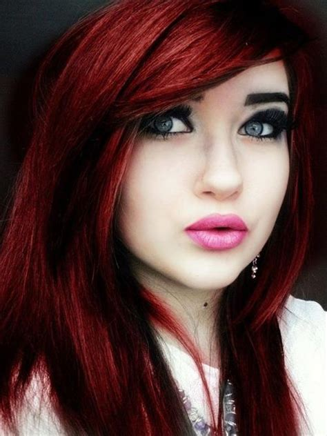 coloring red hair picture 1