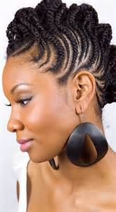 African american hair plat styles picture 2