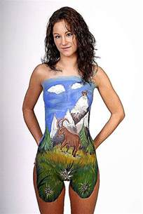 skin painting picture 2