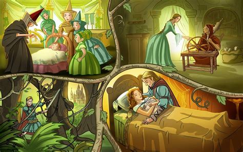 sleeping beauty farytails to read now picture 11