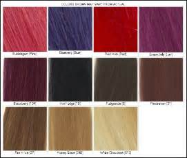 color chart for red hair dye picture 7