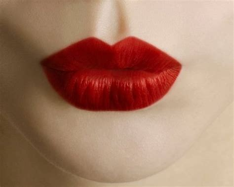 hot red lips picture 13