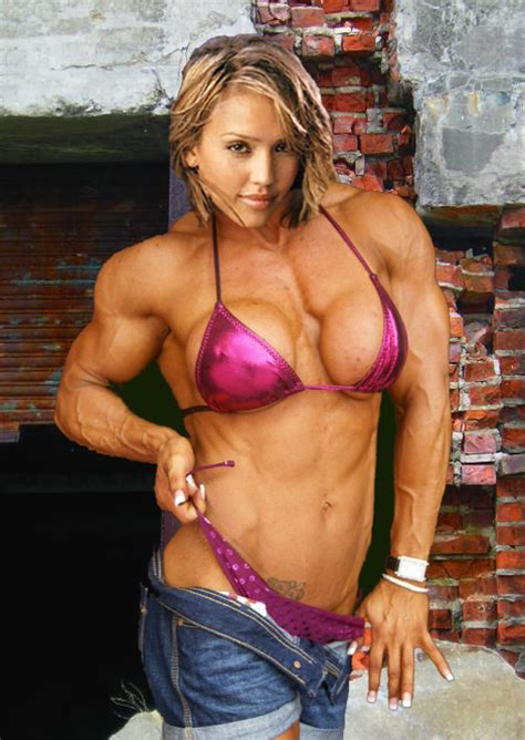 female muscle art & fantasy picture 1
