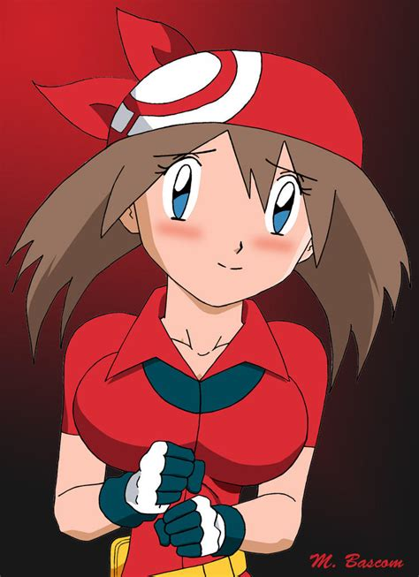 pokemon may's large breast picture 2