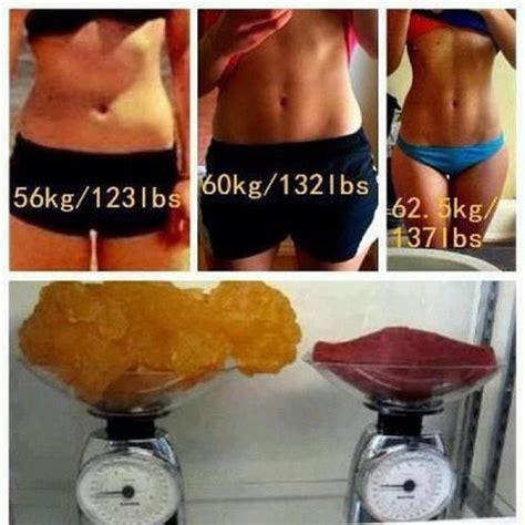 muscle vs fat weight gain picture 7